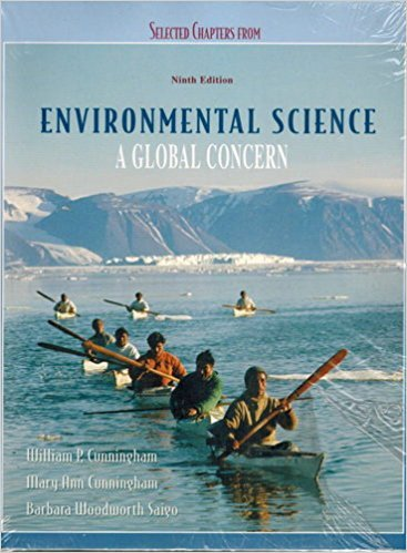9780073346717: Selected Chapters from Environmental Science, a Global Concern, 9th edition, Custom printing 2007 (E