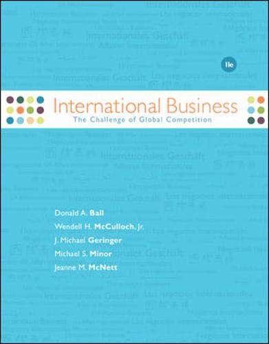 9780073346885: International Business: The Challenge of Global Competition