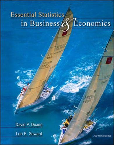 9780073346939: Essential Statistics in Business and Economics with St CDRom (Irwin/McGraw-Hill Series in Operations and Decision Sciences)