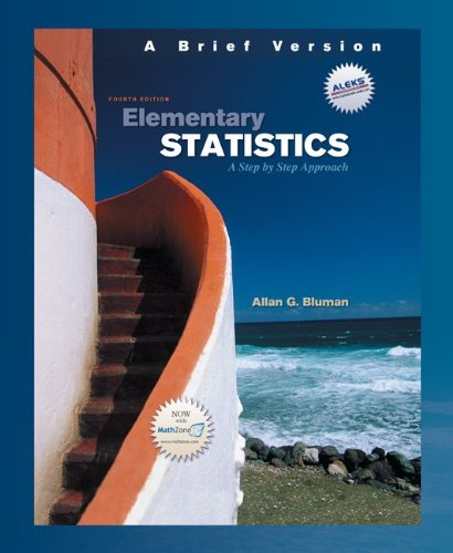 9780073347141: Elementary Statistics: A Step by Step Approach [With DVD]