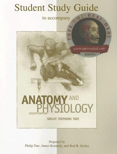 9780073347264: Study Guide to accompany Anatomy and Physiology Seeley 8th edition
