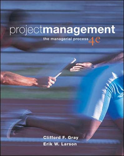 9780073348179: Project Management: The Managerial Process, 4th Edition (Book & CD-ROM)