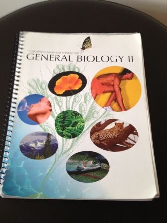 9780073348353: Customized Lab Manual For General Biology II