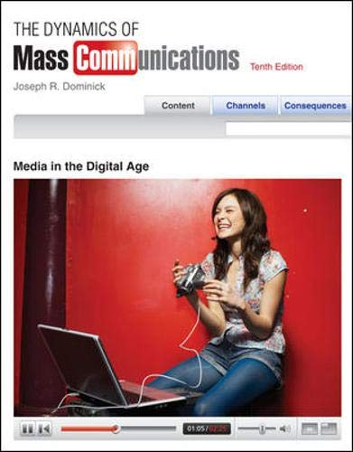 9780073348506: The Dynamics of Mass Communication: Media in the Digital Age with Media World 2.0 DVD-ROM