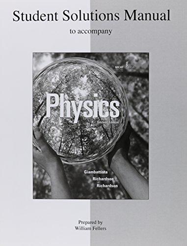 9780073348926: Student Solutions Manual to Accompany Physics