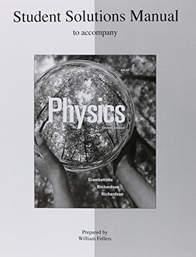 9780073348926: Student Solutions Manual to accompany Physics