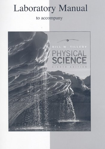 9780073349190: Lab Manual to accompany Physical Science