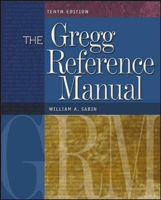 9780073353180: The Gregg Reference Manual with One-Year Online Subscription