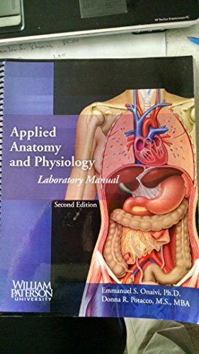 9780073354958: Applied Anatomy and Physiology Laboratory Manual (William Paterson University edition)