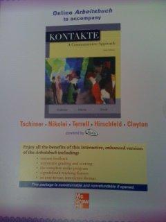 9780073355115: Online Arbeitsbuch to Accompany Kontakte: A Communicative Approach, 6e