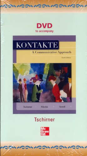9780073355146: DVD to Accompany Kontakte a Communicative Approach, 6th edition