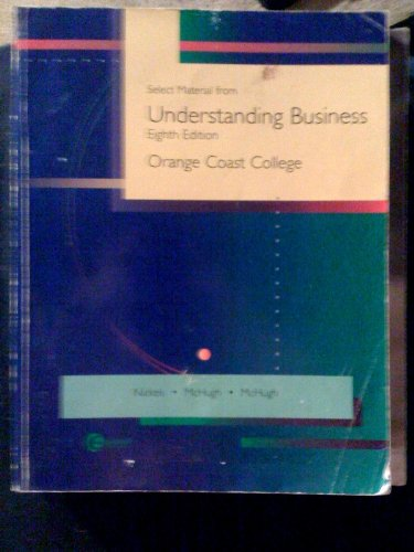 Select Material From Understanding Business, 8th Edition