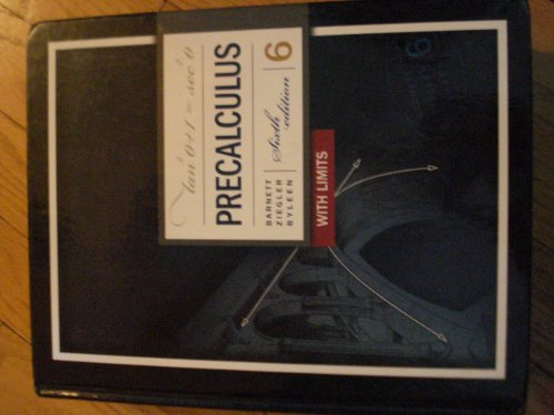 9780073360140: Precalculus with Limits