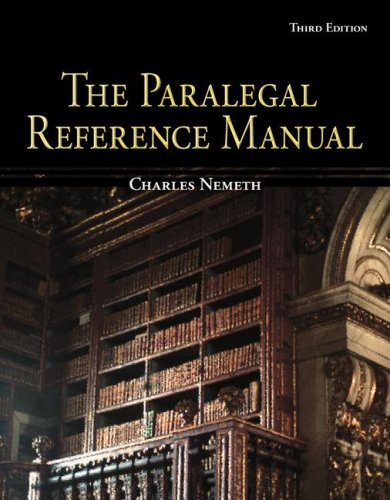 9780073361727: The Paralegal Resource Manual w/CD (McGraw-Hill Business Careers Paralegal Titles)