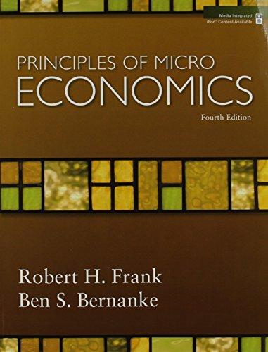 9780073362663: Principles of Microeconomics (The McGraw-Hill Series in Economics)