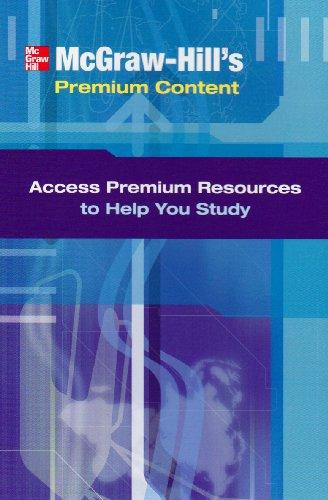 9780073363493: Premium Content Card: Fundamentals of Corp Finance (McGraw-Hill's Premium Content)