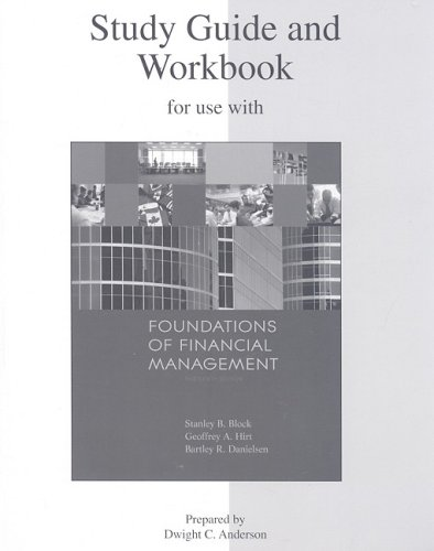 Study Guide and Workbook to accompany Foundations: Stanley Block, Geoffrey