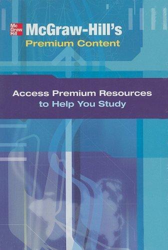 9780073363967: Premium Content Card: Personal Finance (McGraw-Hill's Premium Content)