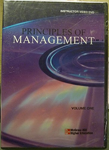 9780073364148: Principles of Management Video DVD Vol 1