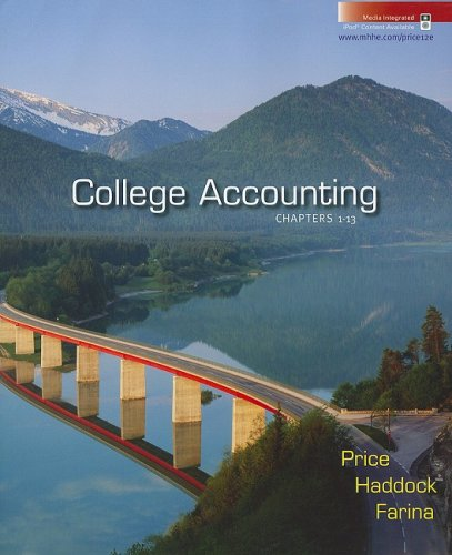 9780073365497: College Accounting, Chapters 1-13