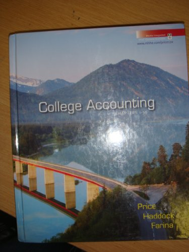 9780073365602: College Accounting: Chapters 1-30
