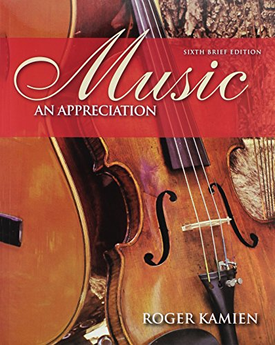 9780073366029: Music: An Appreciation [With 5 CDs]