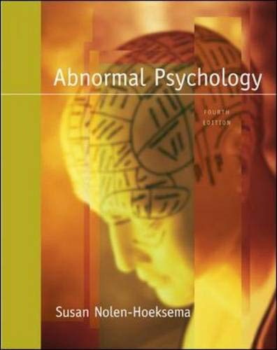 9780073366036: Abnormal Psychology