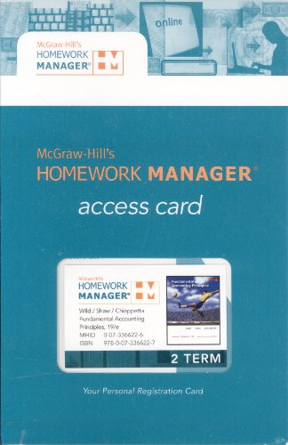 9780073366227: McGraw-Hill's Homework Manager Access Card to accompany FAP