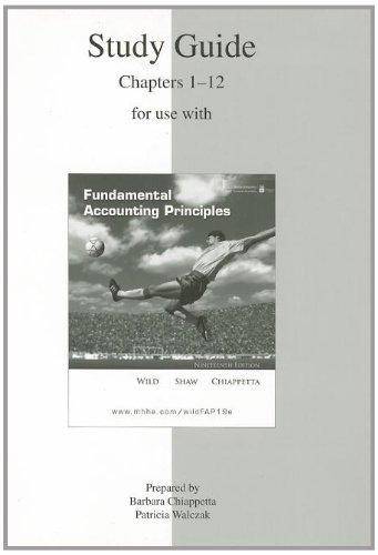 Fund Accounting Prin (V1: Sg) 19th