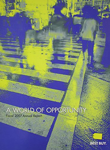 9780073366418: World of Opportunity, Best Buy Annual Report
