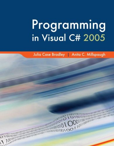 9780073366876: Programming in Visual C# with Visual Studio Professional Edition Software