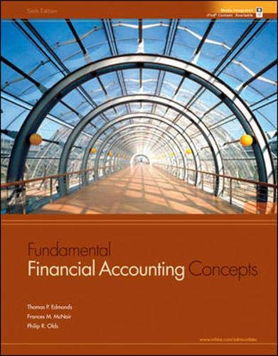 9780073367774: Fundamental Financial Accounting Concepts with Harley-Davidson Annual Report