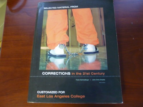 9780073368450: Corrections in the 21st Century (Customerized for East Los Angeles College)