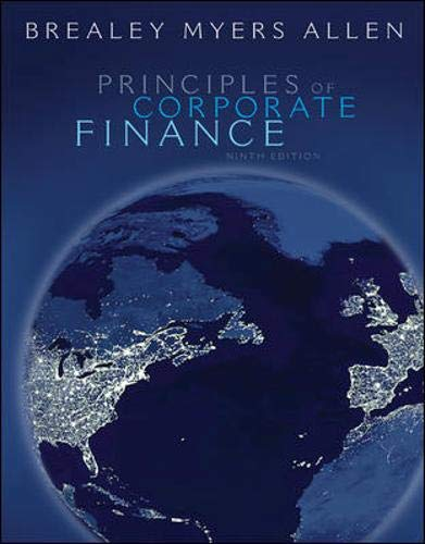 9780073368696: Principles of Corporate Finance with S&P bind-in card