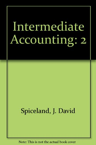 9780073368740: Intermediate Accounting - Revised Edition, Volume 2