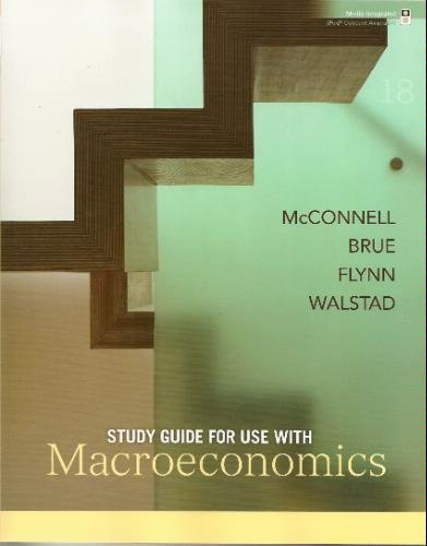9780073368849: Study Guide for use with Macroeconomics