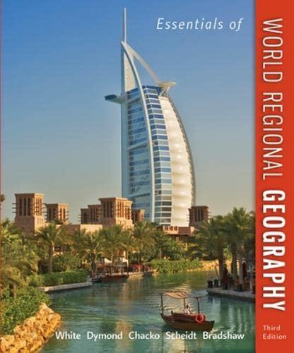 9780073369358: Essentials of World Regional Geography, 3rd Edition