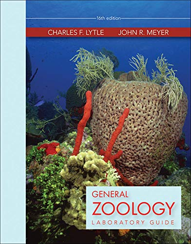 General Zoology Laboratory Guide: Lytle Dr., Charles