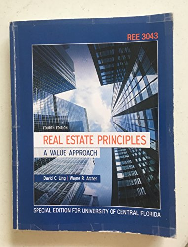 9780073369594: Real Estate Principles A Value Approach Fourth Edition (Special Edition for University of Central Florida)