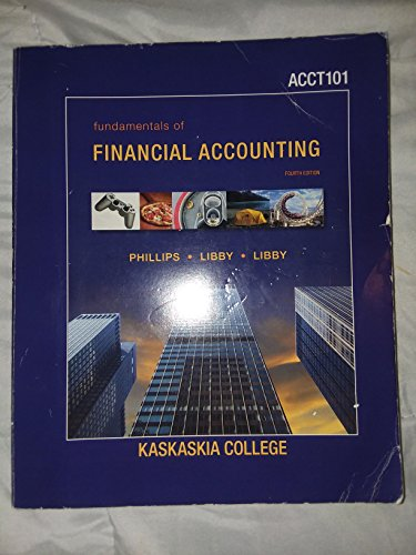 9780073369709: Fundamentals of Financial Accounting 4th Edition