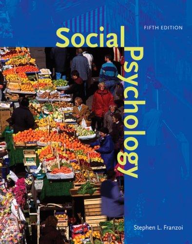 9780073370590: Social Psychology