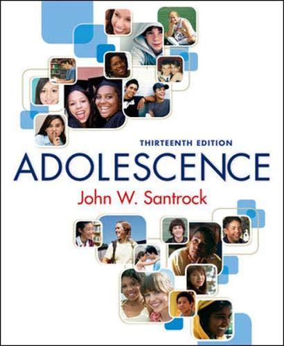 9780073370675: Adolescence