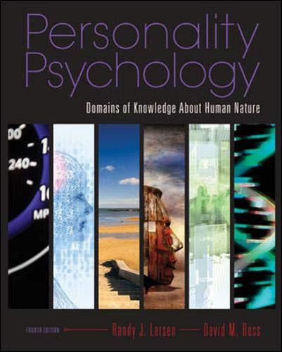 9780073370682: Personality Psychology: Domains of Knowledge About Human Nature