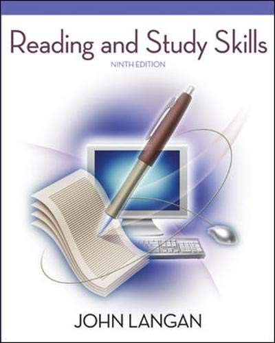9780073371641: Reading and Study Skills, 9th Edition