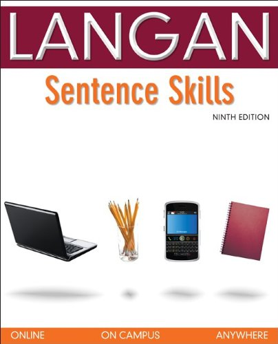 Sentence Skills: A Workbook for Writers (0073371696) by John Langan