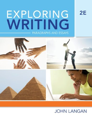 9780073371856: Exploring Writing: Paragraphs and Essays