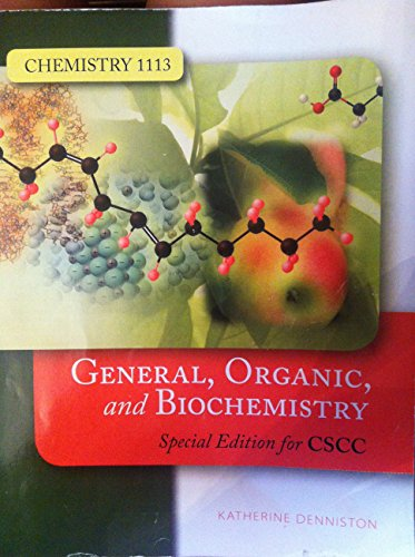 9780073371948: General, Organic, and Biochemistry, Chemistry 1113, Columbus State Community College