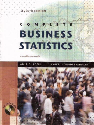 9780073373607: Complete Business Statistics