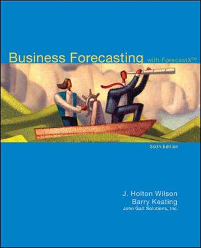 9780073373645: Business Forecasting with Business ForecastX