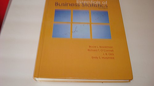 9780073373683: Essentials of Business Statistics